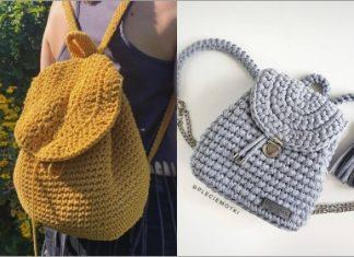 crochet backpack pattern ideas