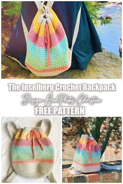 The Inselberg Crochet Backpack pattern free