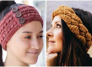 crochet headband patterns free
