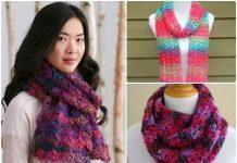 modern crochet scarf pattern