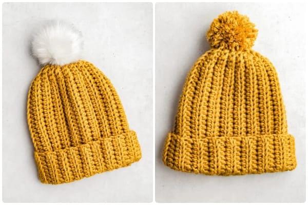 easy crochet hat free pattern