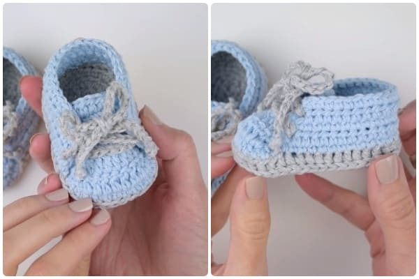 Travel The World Crochet Baby Boy shoes free pattern
