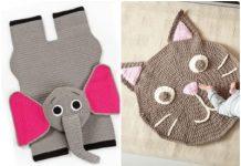 crochet rug for kids free patterns