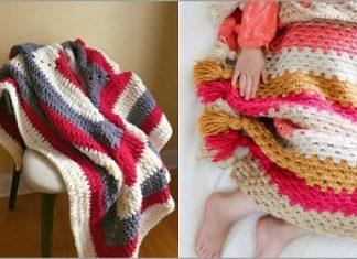 crochet blanket afghan free pattern