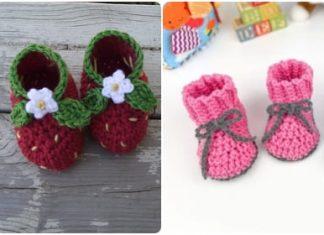 free crochet baby boot patterns