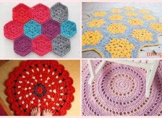 crochet rug pattern free