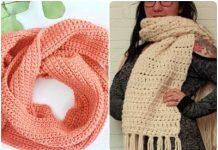 crochet scarf free patterns 2021
