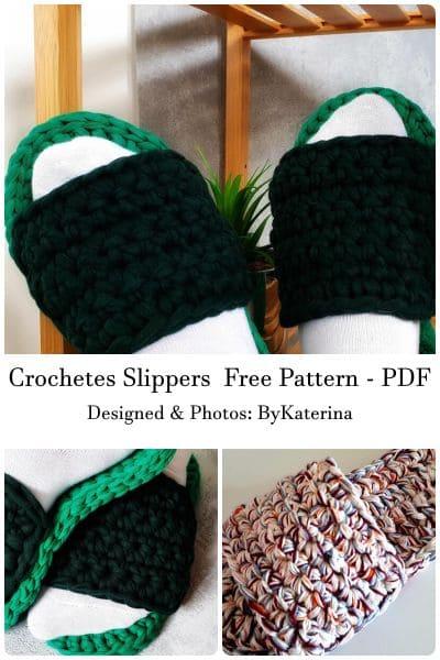 katerina crochet slippers free pattern pdf