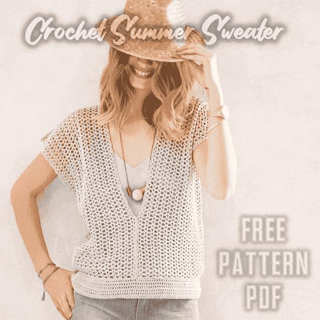 crochet sweater pattern free