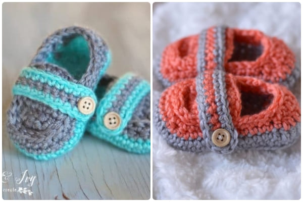monk strap crochet baby boy shoes free pattern