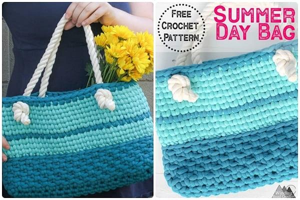 summer day crochet handbag pattern