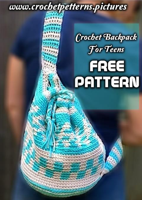 free crochet backpack pattern