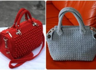 modern crochet handbags free pattern