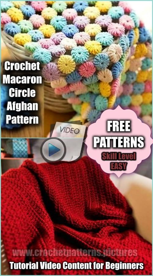 2 crochet afghan blanket - free patterns and videos