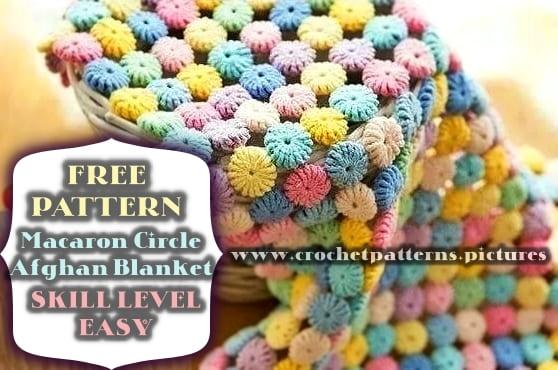 crochet afghan blanket free pattern