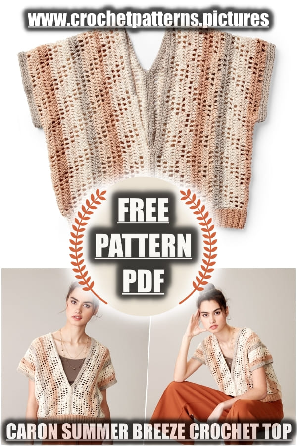 crochet top summer breeze free pattern