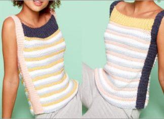 2021 crochet sporty top free pattern