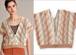 2021 summer breeze crochet top free pattern for women