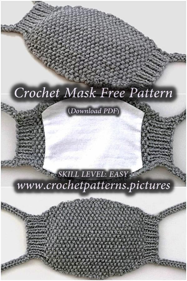 crochet green mask free pattern