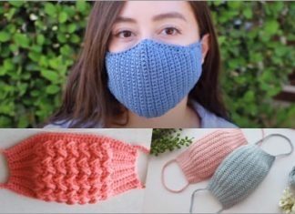 3 crochet face mask popular free patterns