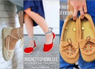 3 crochet shoes easy free patterns