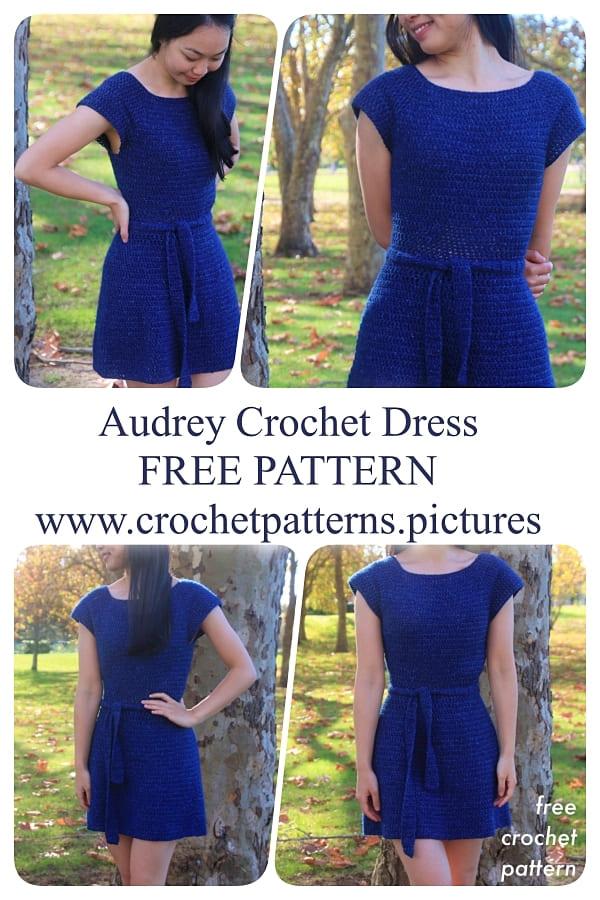 Crochet summer dress free pattern for 2021
