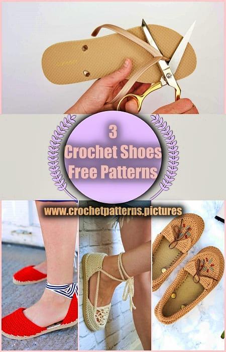 2021 crochet shoes free patterns