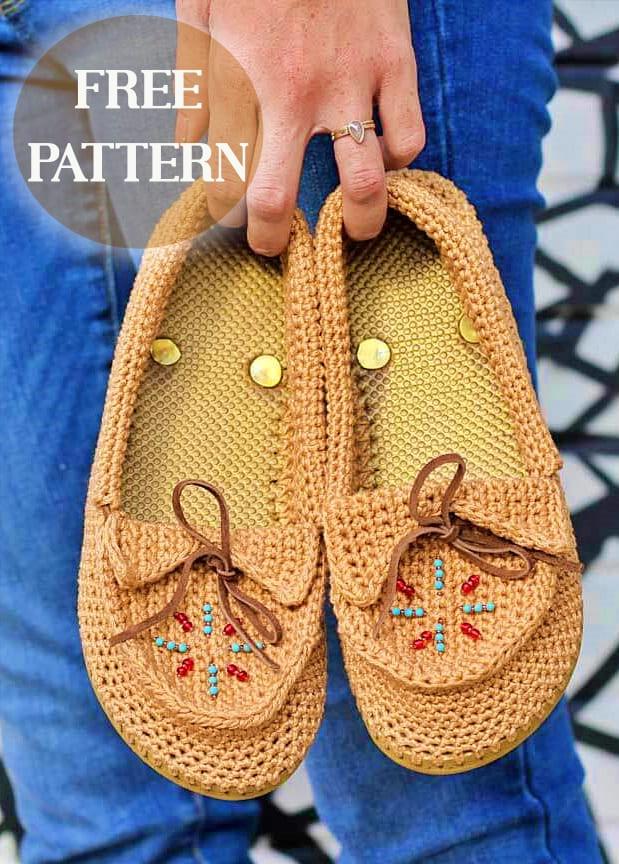 flip flop crochet slippers free patterns