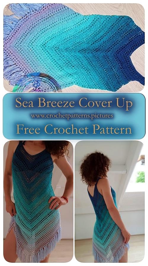Katerina crochet dress free pattern
