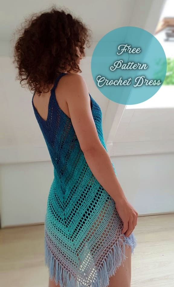 easy crochet summer dress free pattern and for beginners video tutorial