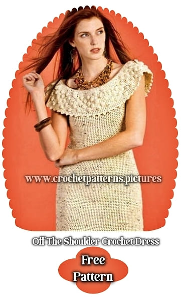 2021 crochet dress free pattern