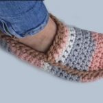2022 crochet slippers free pattern