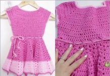 2021 summer crochet dress for kids