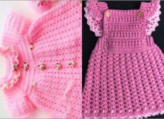 crochet baby girl dress free pattern