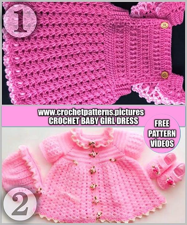 crochet baby dress pattern newborns, crochet baby dress free pattern easy, crochet baby dress free pattern newborn, crochet baby dress pattern, crochet baby clothes free patterns, crochet baby clothes
