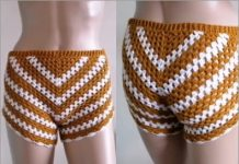 crochet short free pattern for summer 2021