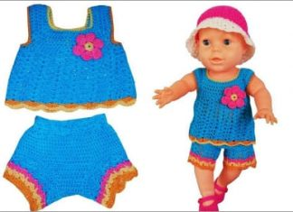 crochet baby clothes for summer