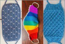 3 crochet face mask free patterns