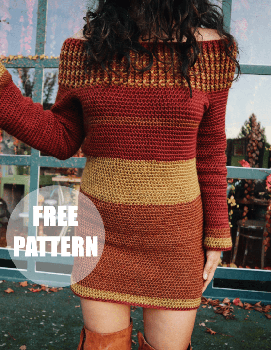 crochet sweater dress pattern free, sweater dress women, sweater dress outfit winter