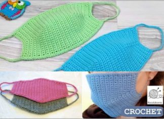 crochet face mask free patterns in 2021