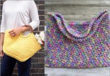 crochet handbags free pattern