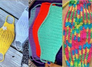 trend crochet face mask free patterns