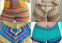 4 crochet shorts free patters
