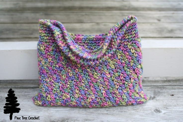 whitney crochet bag free pattern